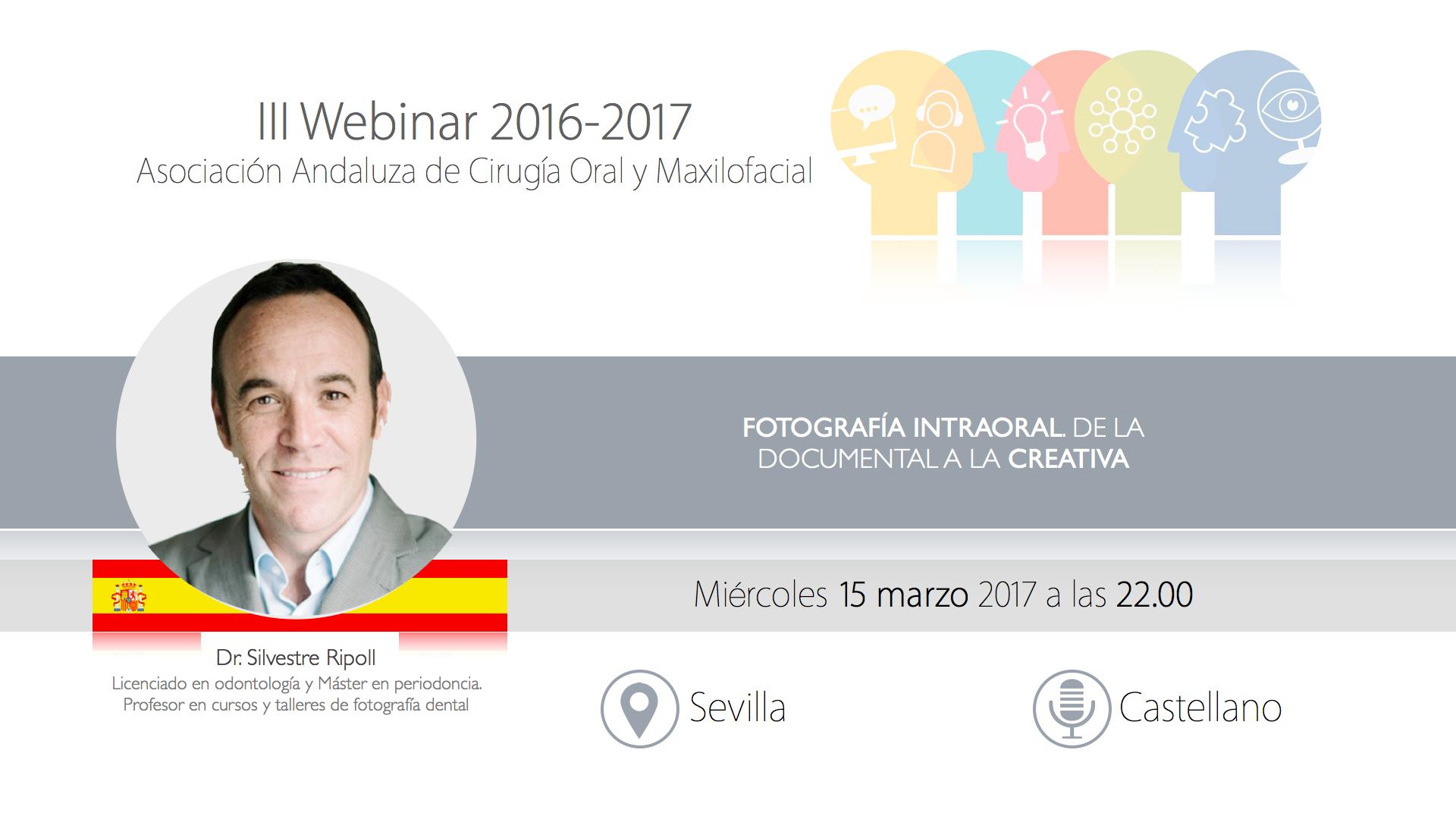 Webinar III 2016-2017. Dr Ripoll